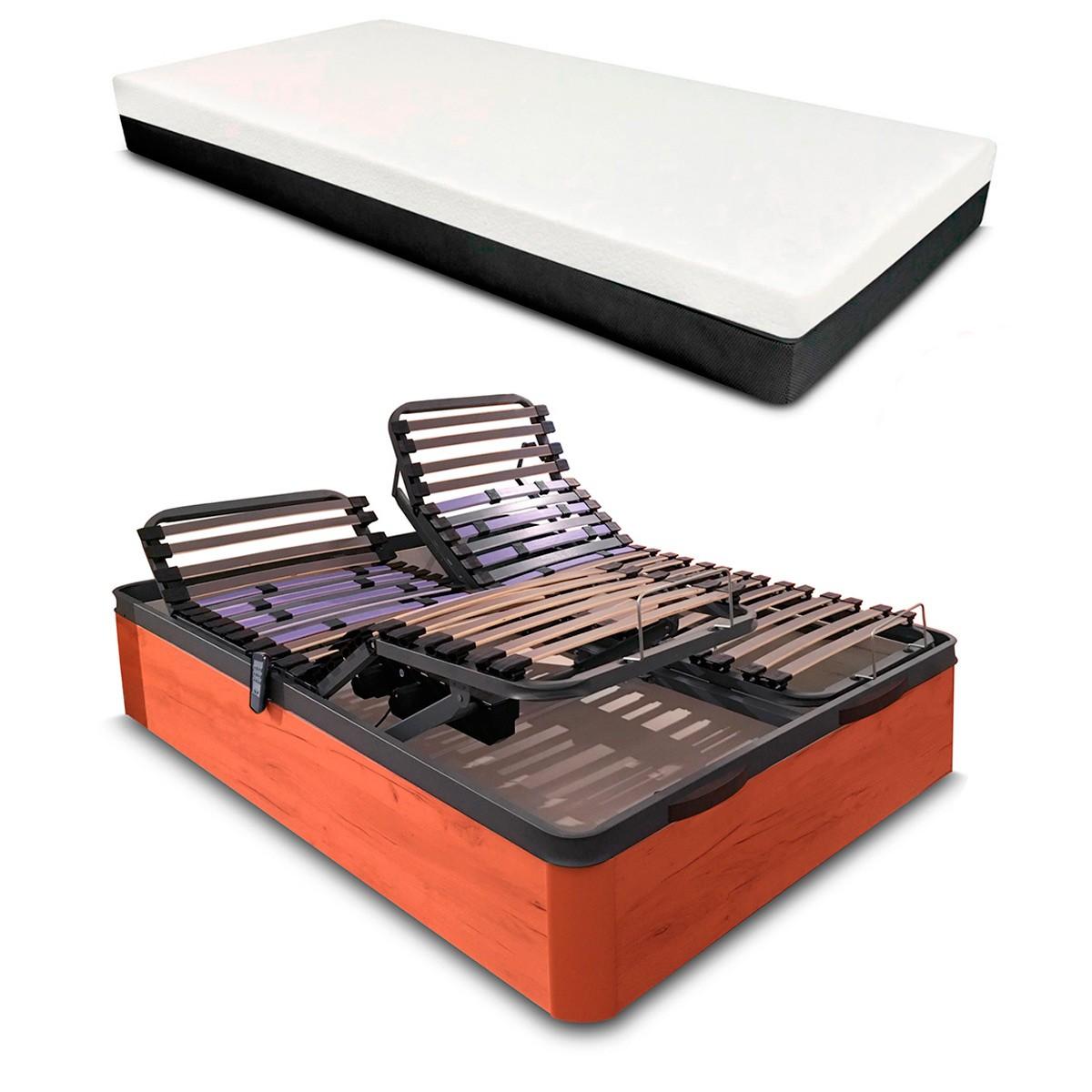 Colchón Artimat Plus + Canapé Articulado Eléctrico Reforzado