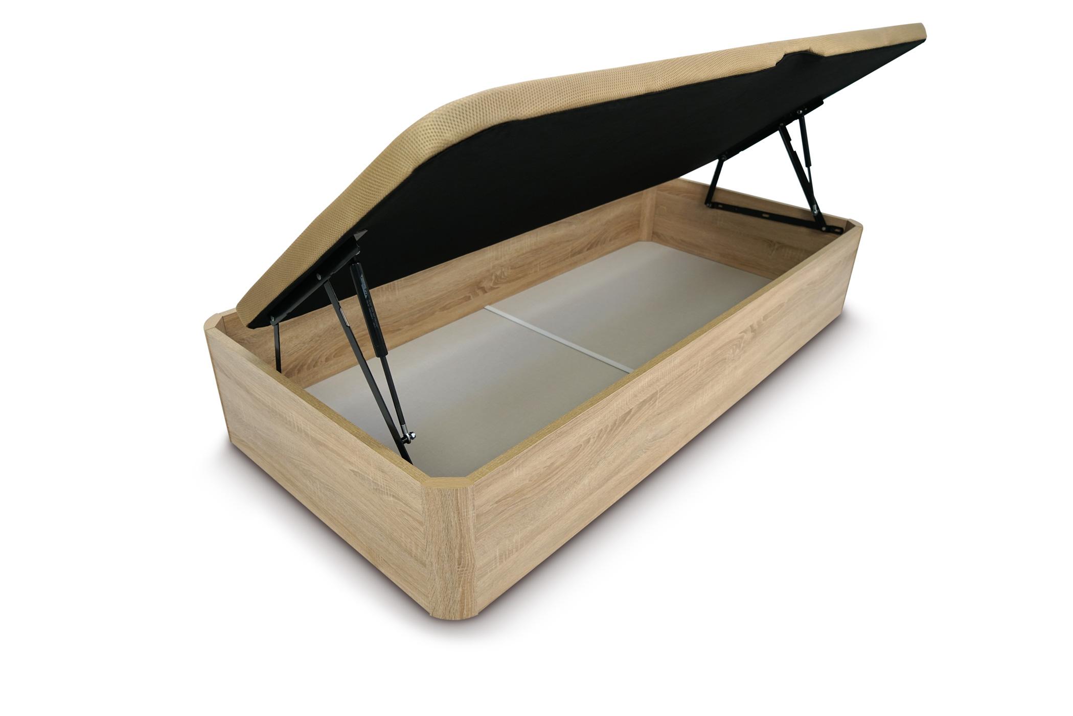 Canapé abatible lateral de madera gran capacidad