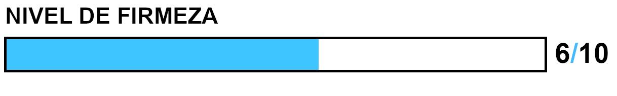 Colchón con firmeza 6/10
